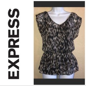 express sleeveless blouse with built in camisole